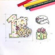 Эскиз фотозоны и декора для фото на 1 год мальчику