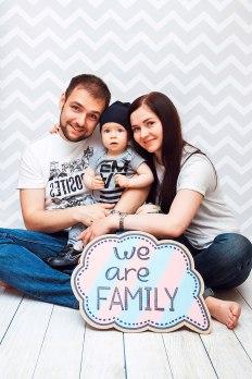 Аксессуары для семейной фотосессии от Дон Картон Вологда